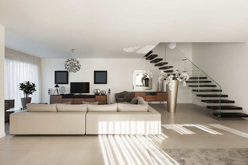50592623 – interior of a modern apartment, comfortable living room